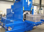 Gebruikte BvL sproeiwasmachine voor industriele reiniging en ontvetting