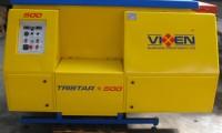 Trommel wasinstallatie merk Vixen Tristar 500 voor reinigen van stortgoed